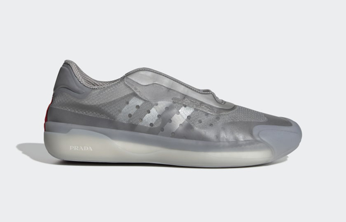 Prada adidas Luna Rossa 21 Grey FW1079 right