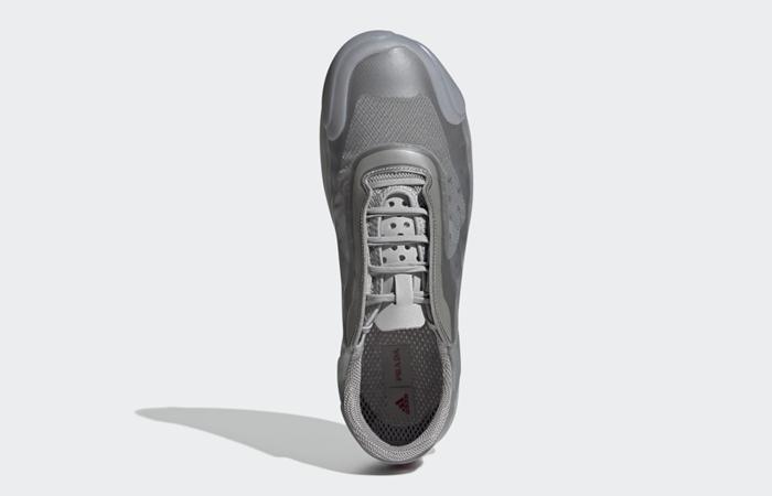 Prada adidas Luna Rossa 21 Grey FW1079 up