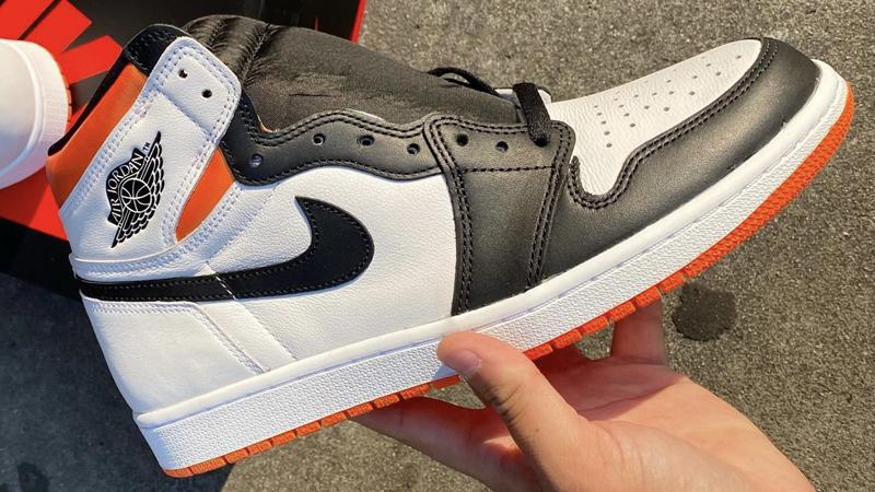 Release Details Air Jordan 1 High Electro Orange 05