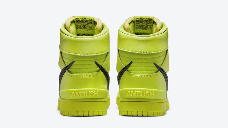 Release Details for Ambush Nike Dunk High Atomic Green Womens 01