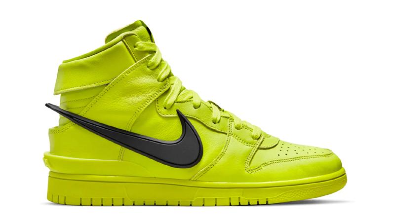 Release Details for Ambush Nike Dunk High Atomic Green Womens 02