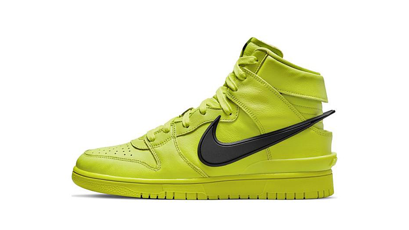 Release Details for Ambush Nike Dunk High Atomic Green Womens 03