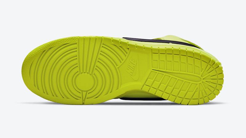 Release Details for Ambush Nike Dunk High Atomic Green Womens 05