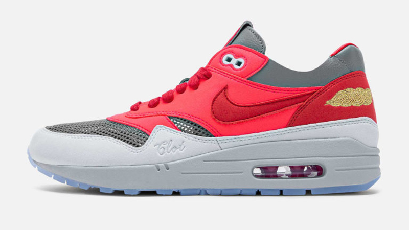 Release Details for Clot Nike Air Max 1 KOD Solar Red 01