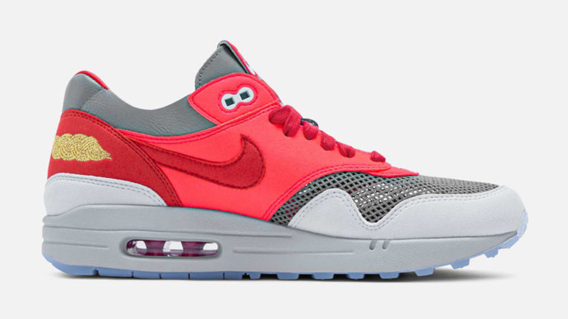 Release Details for Clot Nike Air Max 1 KOD Solar Red 02