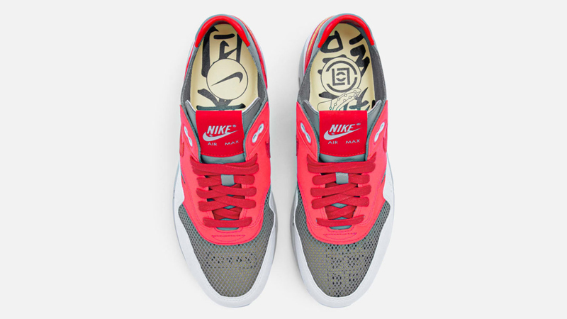 Release Details for Clot Nike Air Max 1 KOD Solar Red 03