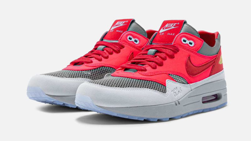 Release Details for Clot Nike Air Max 1 KOD Solar Red featured image