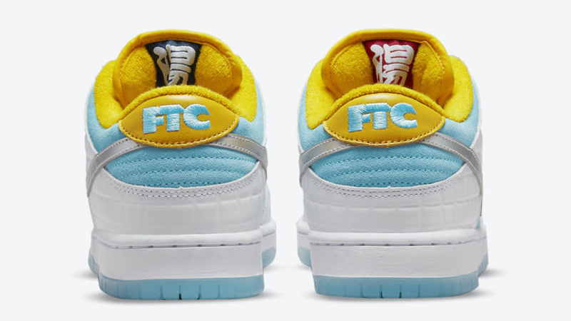 Release Details for FTC Nike SB Dunk Low White Lagoon Pulse 04