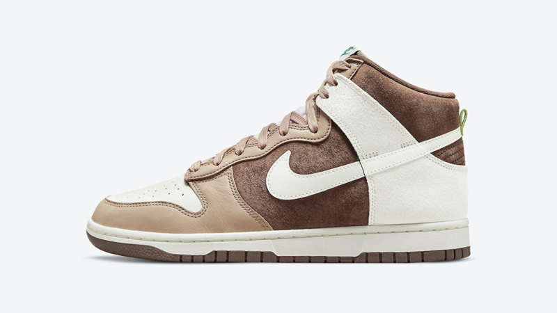 Release Details for Nike Dunk High Sail Light Chocolate 01