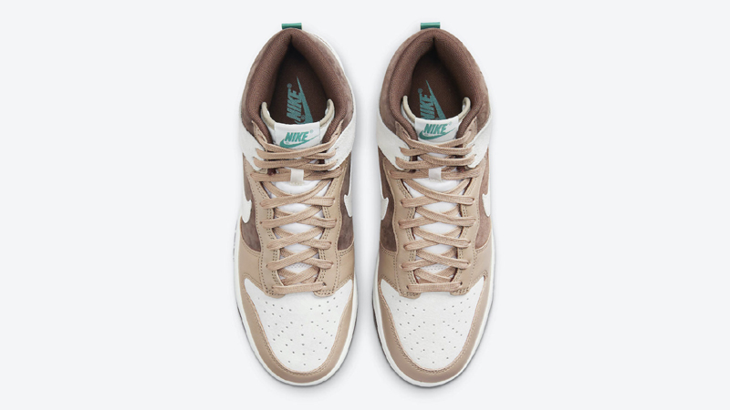Release Details for Nike Dunk High Sail Light Chocolate 03