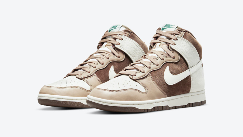 Release Details for Nike Dunk High Sail Light Chocolate featured image