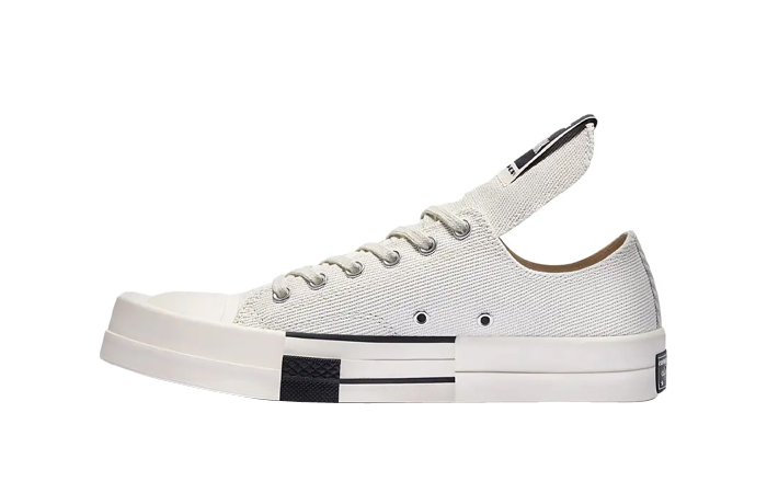 Rick Owens Converse Turbodrk Low Lily White Black 172345C featured image