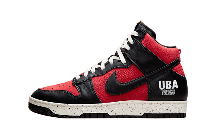 Undercover Nike Dunk High UBA Black Red DD9401-600 featured image