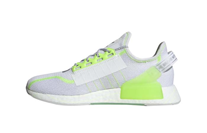 adidas NMD R1 V2 White Signal Green GX0538 featured image
