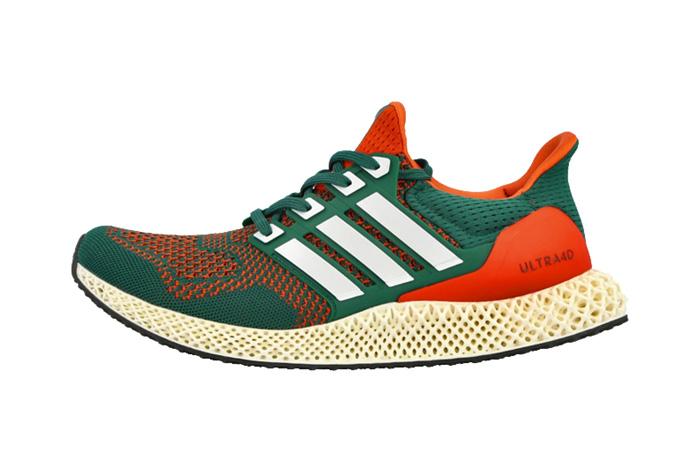 adidas Ultra 4D Miami Green Orange Q46439 featured image