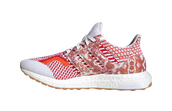 adidas Ultra Boost 5.0 Nature Lab White Scarlet Womens GY3190 featured image