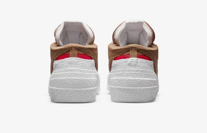 sacai Nike Blazer Low Light British Tan DD1877-200 back