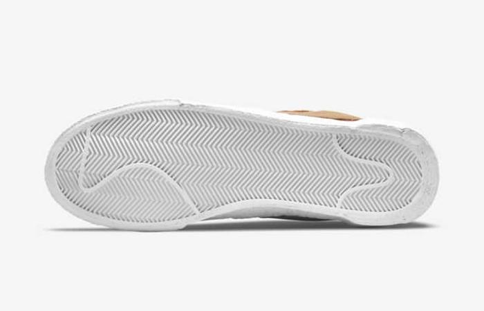 sacai Nike Blazer Low Light British Tan DD1877-200 down