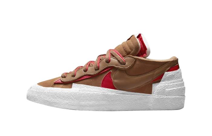 sacai Nike Blazer Low Light British Tan DD1877-200 featured image