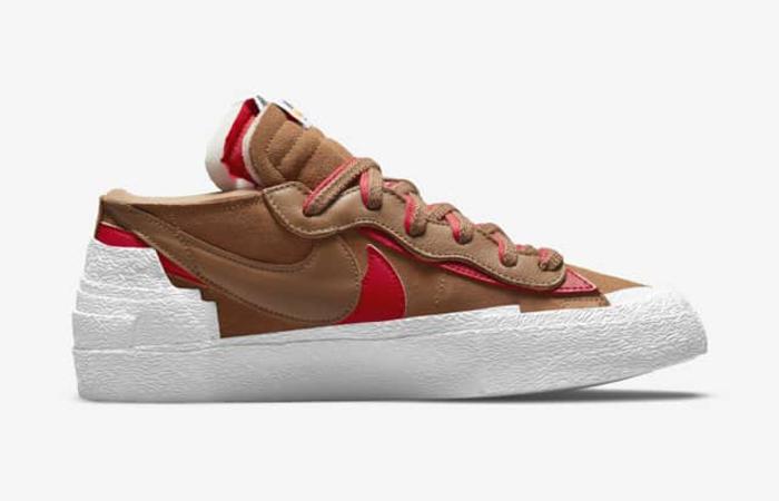 sacai Nike Blazer Low Light British Tan DD1877-200 right
