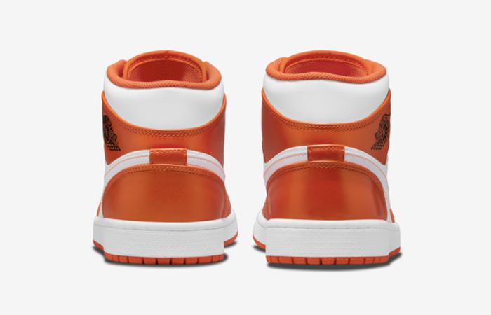 Air Jordan 1 Mid Electro Orange DM3531-800 back