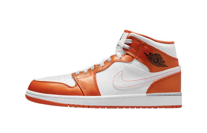 Air Jordan 1 Mid Electro Orange DM3531-800 featured image