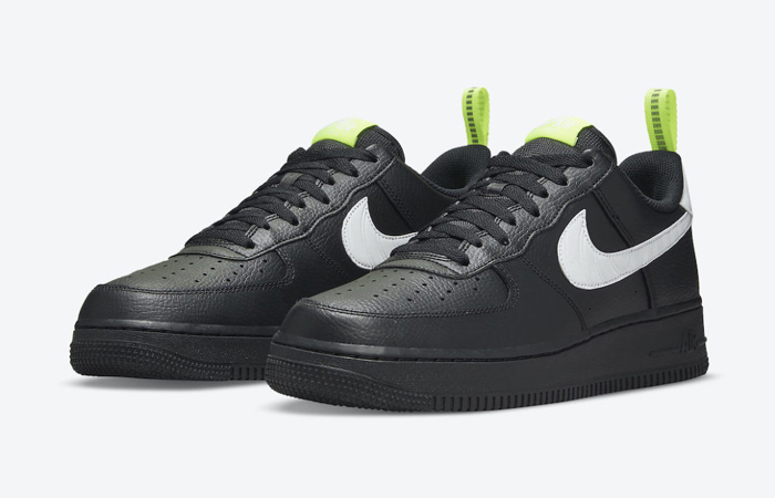 Nike Air Force 1 Low Pivot Point Black DO6394-001 front corner