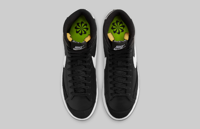 Nike Blazer Mid 77 Next Nature Black DO1344-001 up