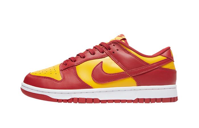Nike Dunk Low Midas Gold DD1391-701 fretured image