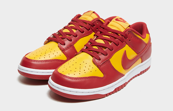 Nike Dunk Low Midas Gold DD1391-701 front corner