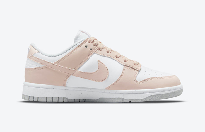 Nike Dunk Low White Soft Pink DD1873-100 right
