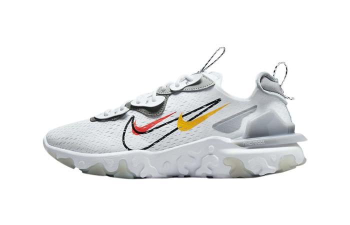 Nike React Vision White Smoke Grey DM9095-101 featured image