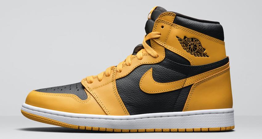 Release Details for Air Jordan 1 High Pollen Black 01