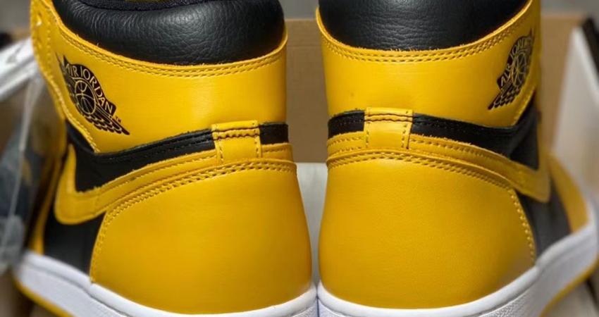 Release Details for Air Jordan 1 High Pollen Black 05