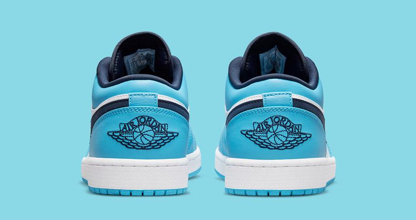 Release Details for Air Jordan 1 Low UNC White University Blue 04