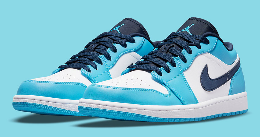 Release Details for Air Jordan 1 Low UNC White University Blue featured image