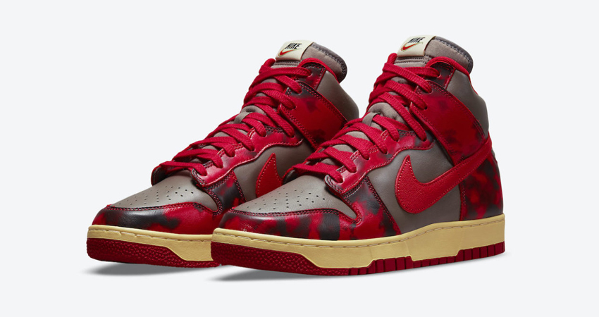 Release Details for Nike Dunk High Red Acid Wash Camo featured image
