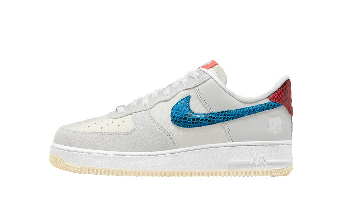Undefeated Nike Air Force 1 Off White DM8461-001 featured image