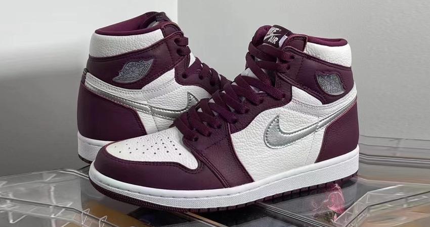 Air Jordan 1 High Bordeaux Official Look 02