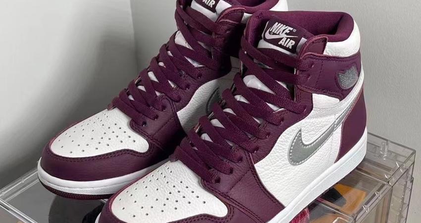 Air Jordan 1 High Bordeaux Official Look 03