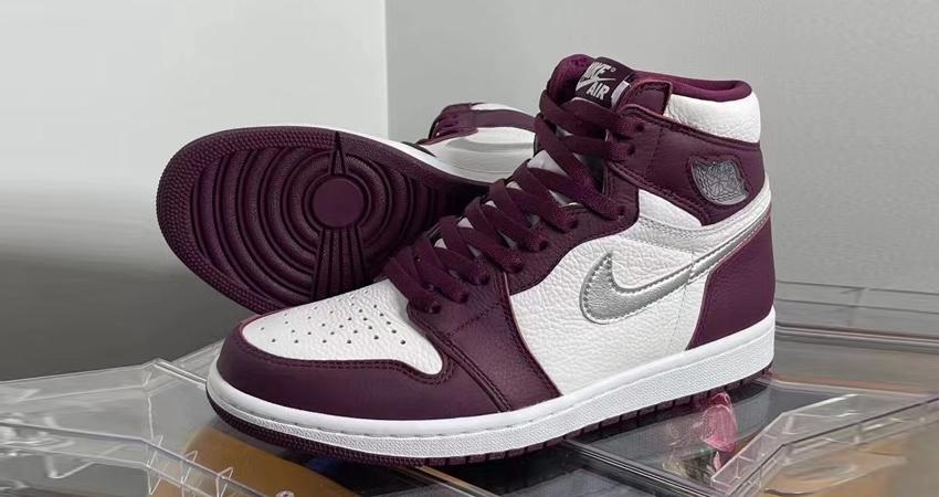Air Jordan 1 High Bordeaux Official Look 04
