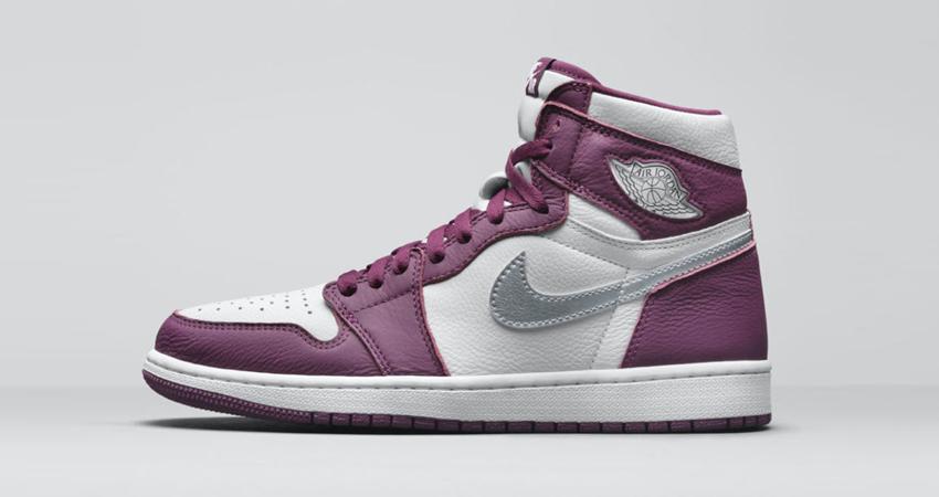 Air Jordan 1 High Bordeaux Official Look featured image
