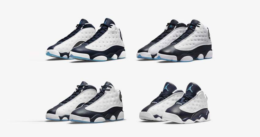 Air Jordan 13 Dark Powder Blue Releasing in All Sizes featured image