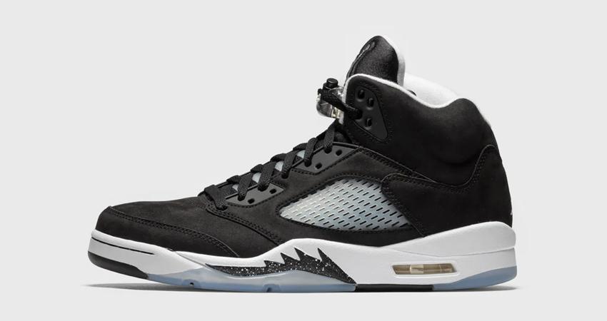Air Jordan 5 Oreo Black has a Release Date 01