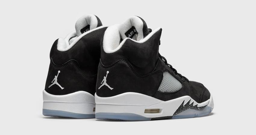 Air Jordan 5 Oreo Black has a Release Date 03