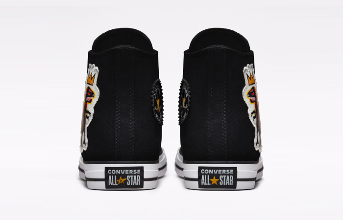 Basquiat Converse Chuck Taylor All Star Black 172586F back