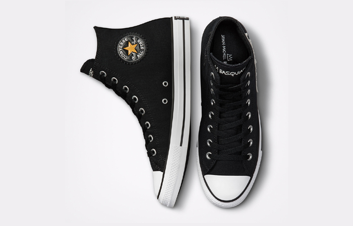 Basquiat Converse Chuck Taylor All Star Black 172586F up