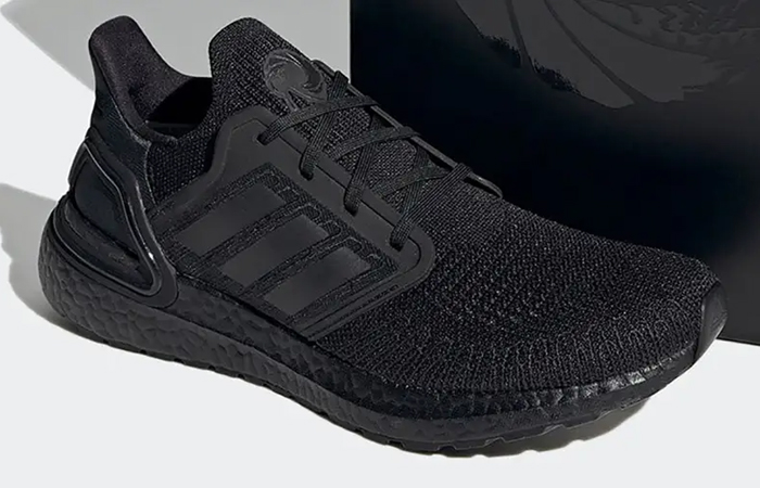 James Bond adidas Ultra Boost Black FY0645 front corner