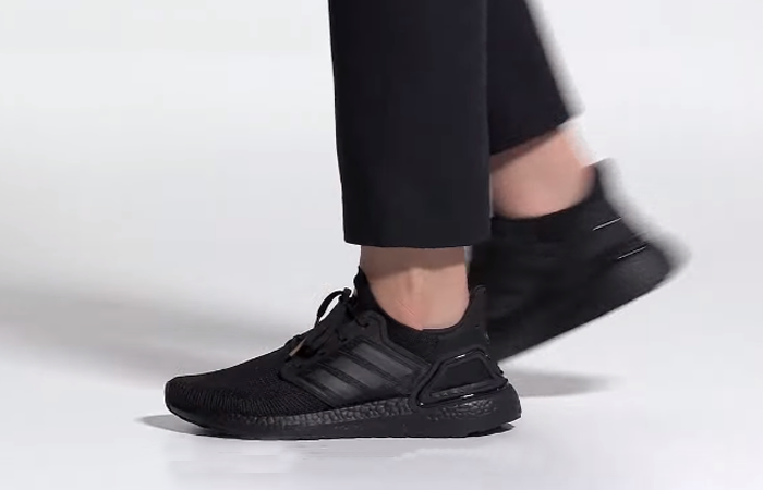 James Bond adidas Ultra Boost Black FY0645 on foot 01