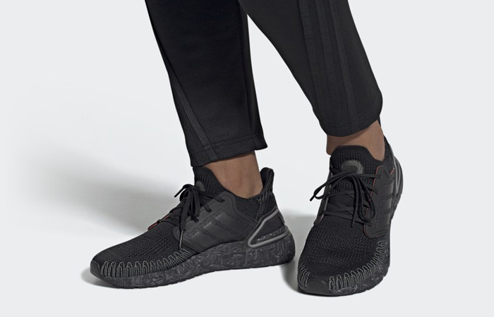 James Bond adidas Ultra Boost Black Grey FY0646 on foot 01